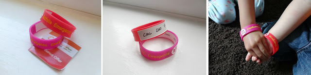 Mediband, Wristband with emergency contacts, Medical bracelet