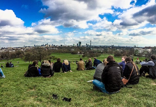 primrose hill, mirador en londres, london skyline, parques en londres, london parks