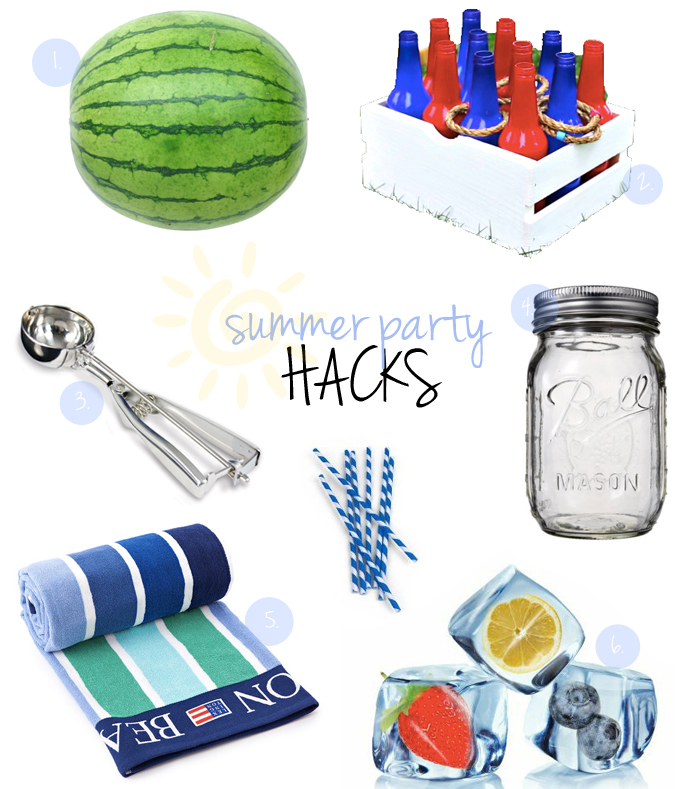 summer party ideas hacks