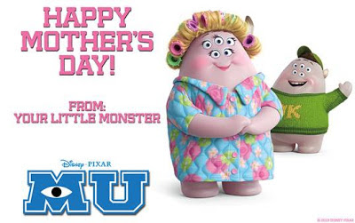 Happy Mother's Day! #MonstersU