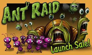 Ant Raid v1.0.0 APK: game hành động bảo vệ tổ kiến cho android