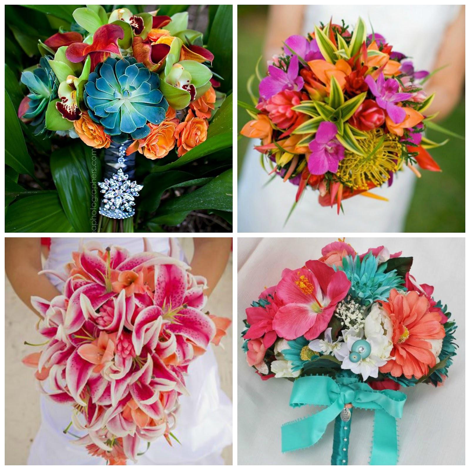 inspiracion para una boda tropical blog bodas mi boda gratis ramos de novia