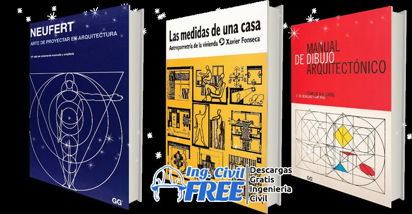 coleccion de libros 6 libros de arquitectura y dibujo