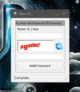 Inject Axis Get Password 19 Desember 2015