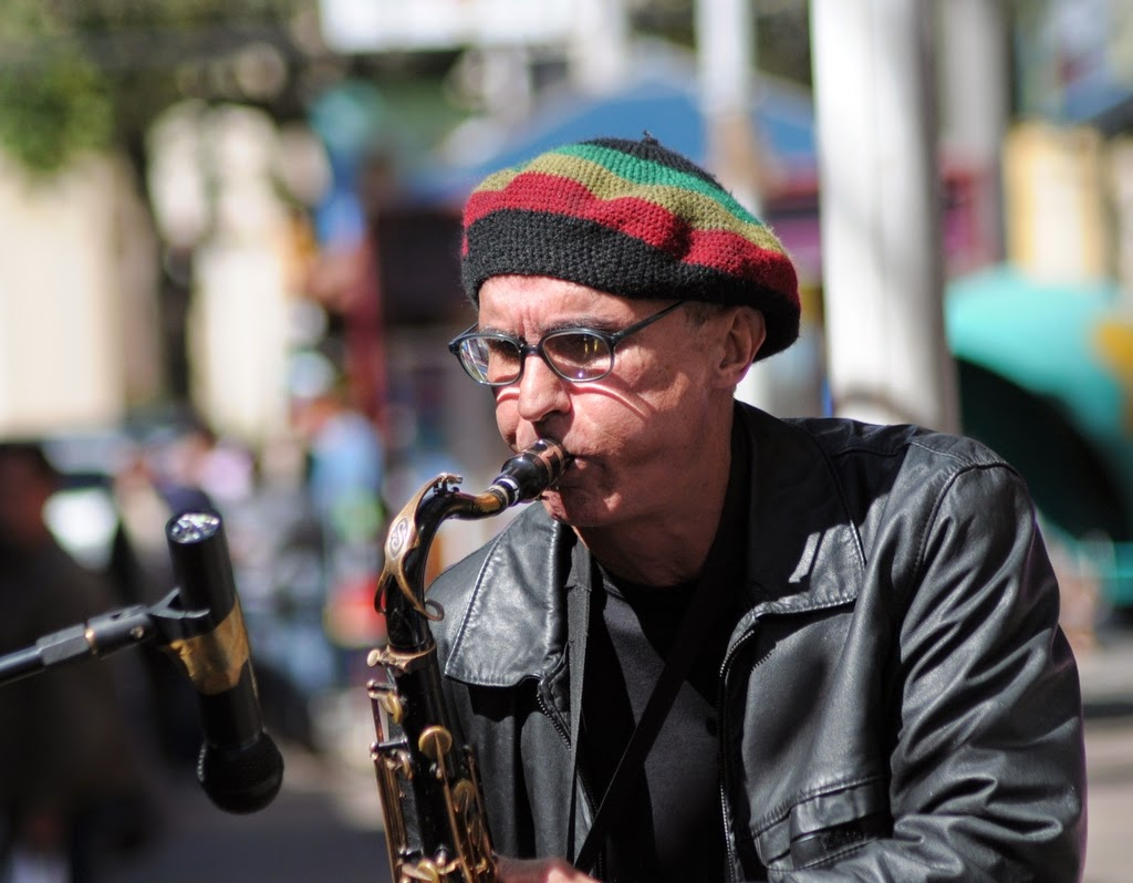 O músico Gil Windsor