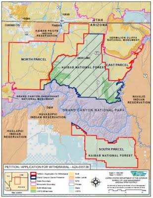 Arizona Geology: Mining ban on federal lands advanced in northern ...