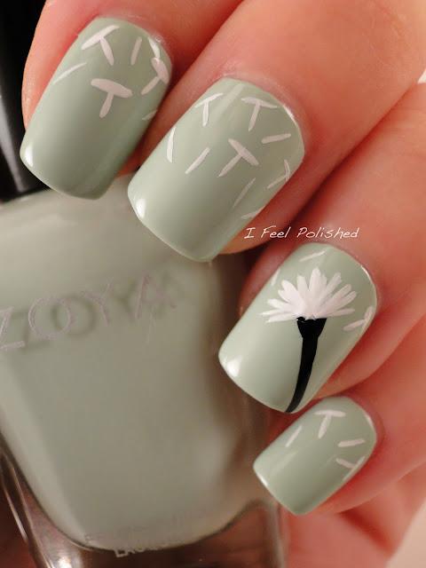 Dandelion Manicure
