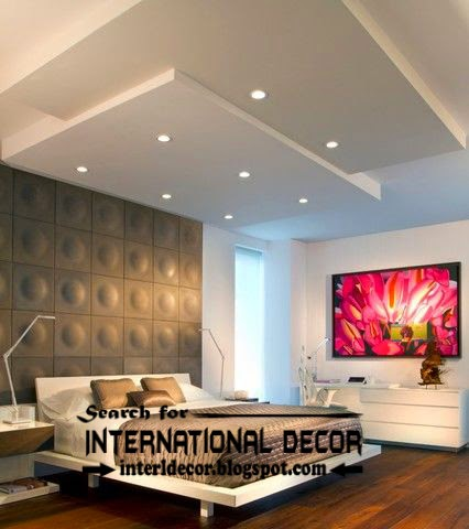 Plaster Ceiling Designs For Bedroom Suspended