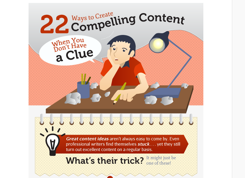 22 Ways For Creating Attractive Content [ Infographics ]
