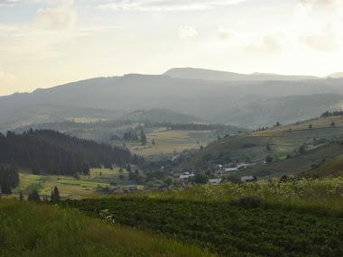 Vedere spre satul Călnaci