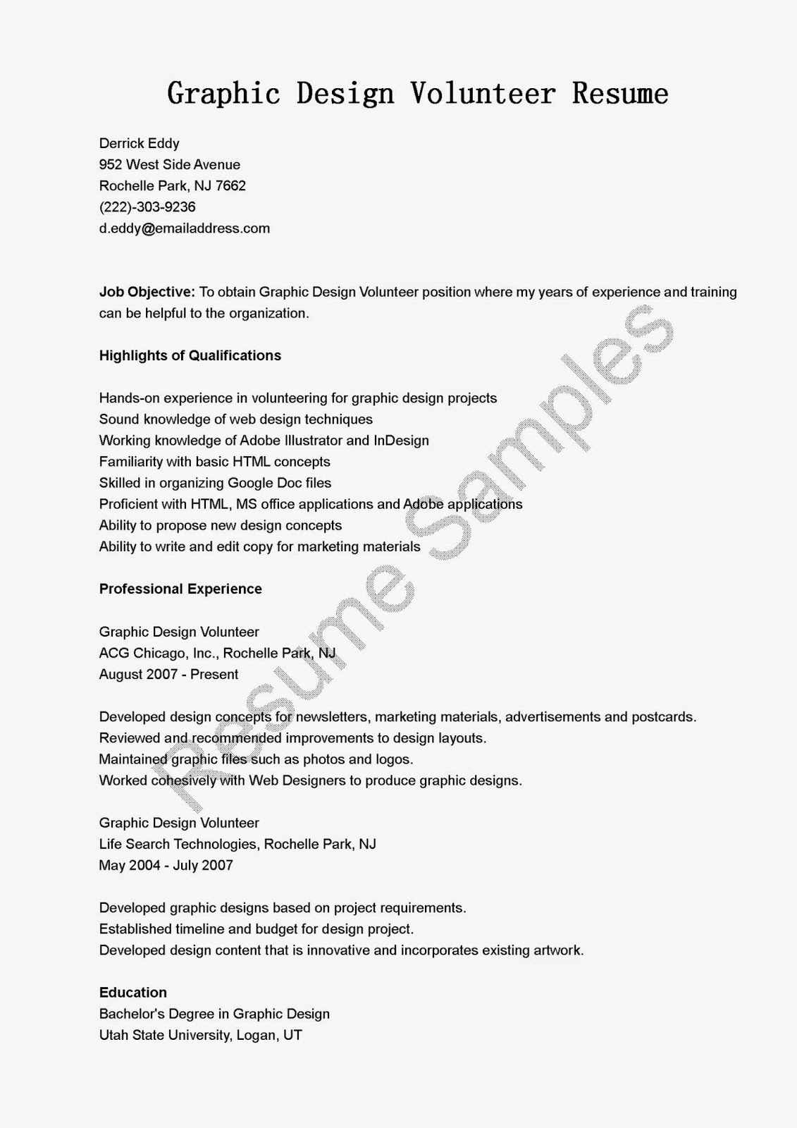 Hospital Volunteer Resume Livmoore Tk  Hospital Volunteer Resume