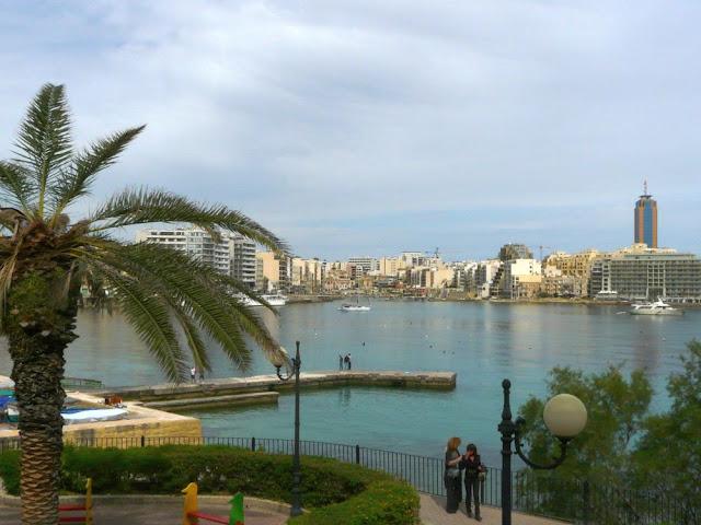 Widok na St/ Julian's - Malta