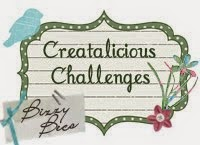Proud Designer for Creatalicious Challenges