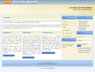 corporate joomla 2.5 templates