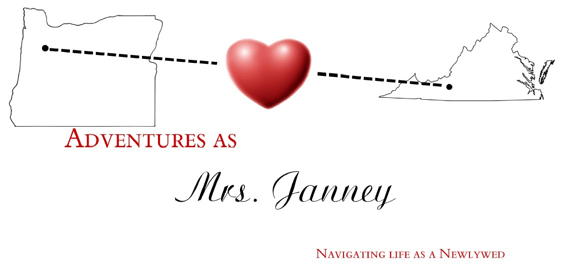Adventures as Mrs. Janney