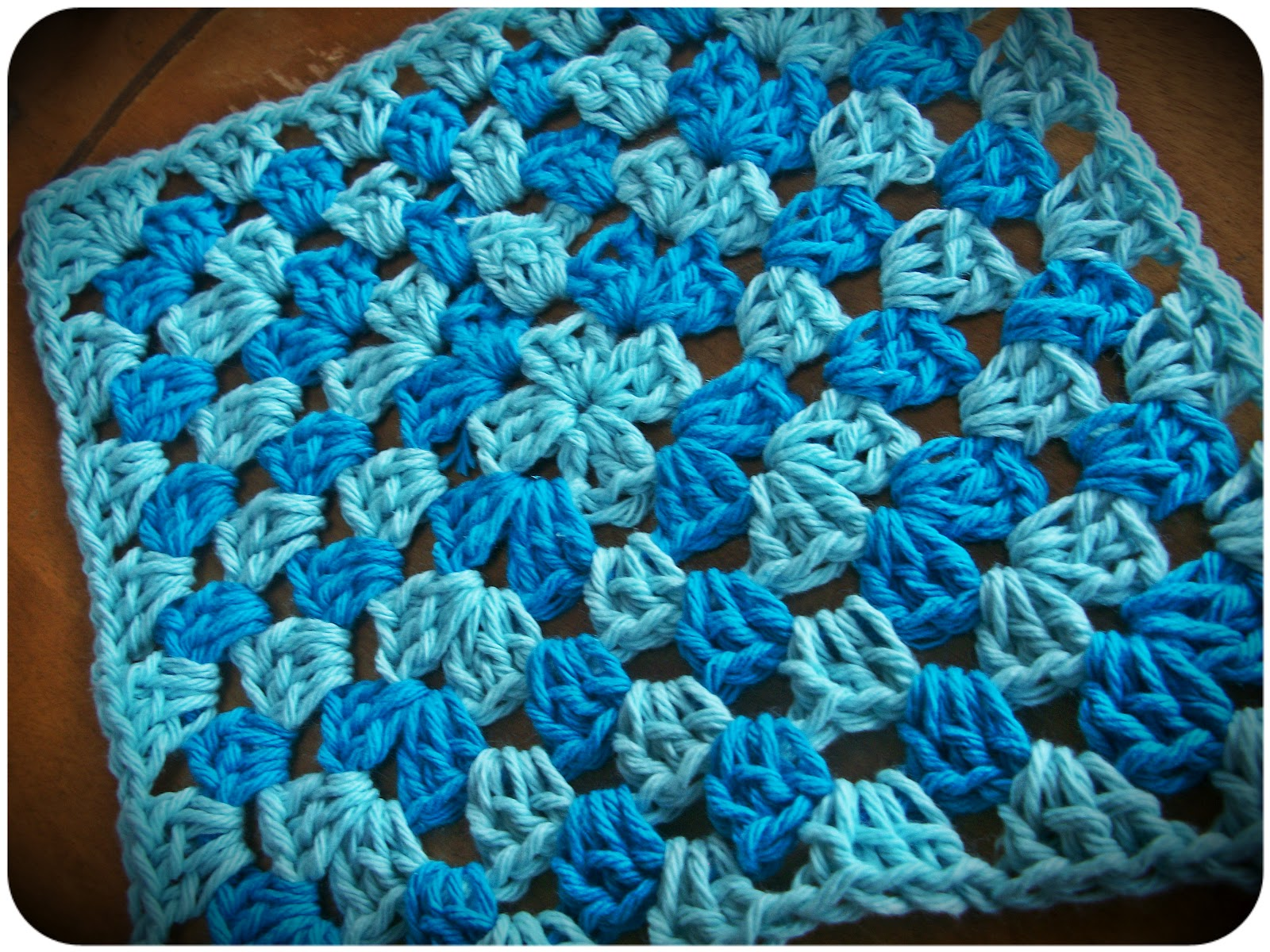 Crochet Granny Square Dishcloth Pattern : Halfway To Hipster: Crocheted Dishcloths