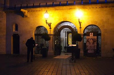Restaurant in Buda Castle Hungary