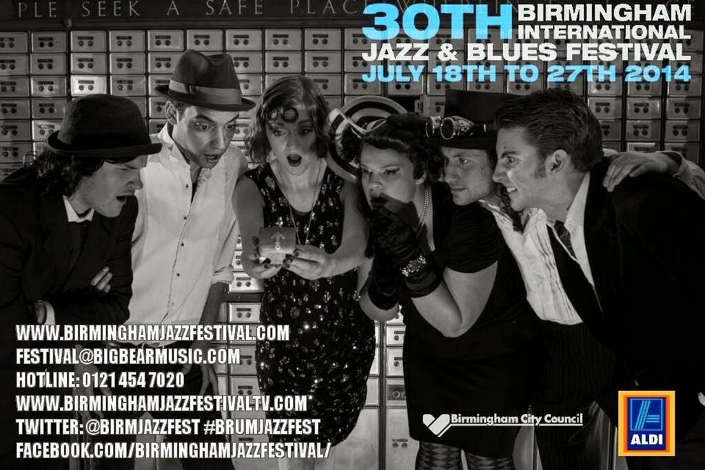 30th Birmingham International Jazz y Blues Festival Blog