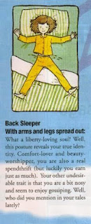 Cara Mengetahui Sifat Seseorang Berdasarkan Posisi Tidur