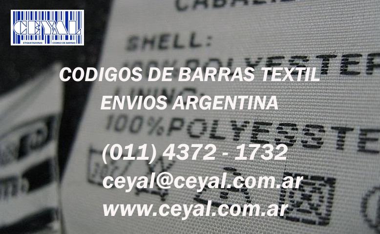 Codificador Industrial codigos de barras Av Avellaneda
