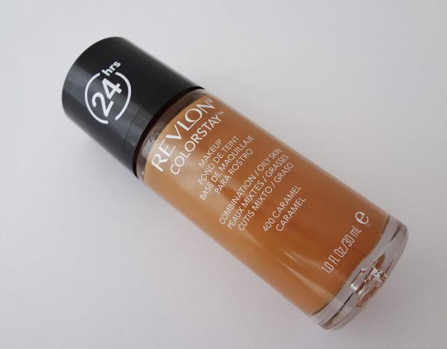 Revlon colorstay foundation for combination/oily skin bottle.