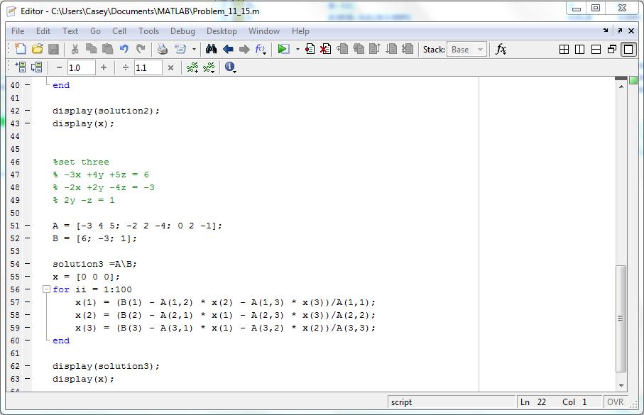 gauss gauss seidel numerical methods Homework problems (week 9) (jacobi and gauss-seidel iterations, numerical methods for eigenvalues) in this homework set you can use a small pocket calculator.