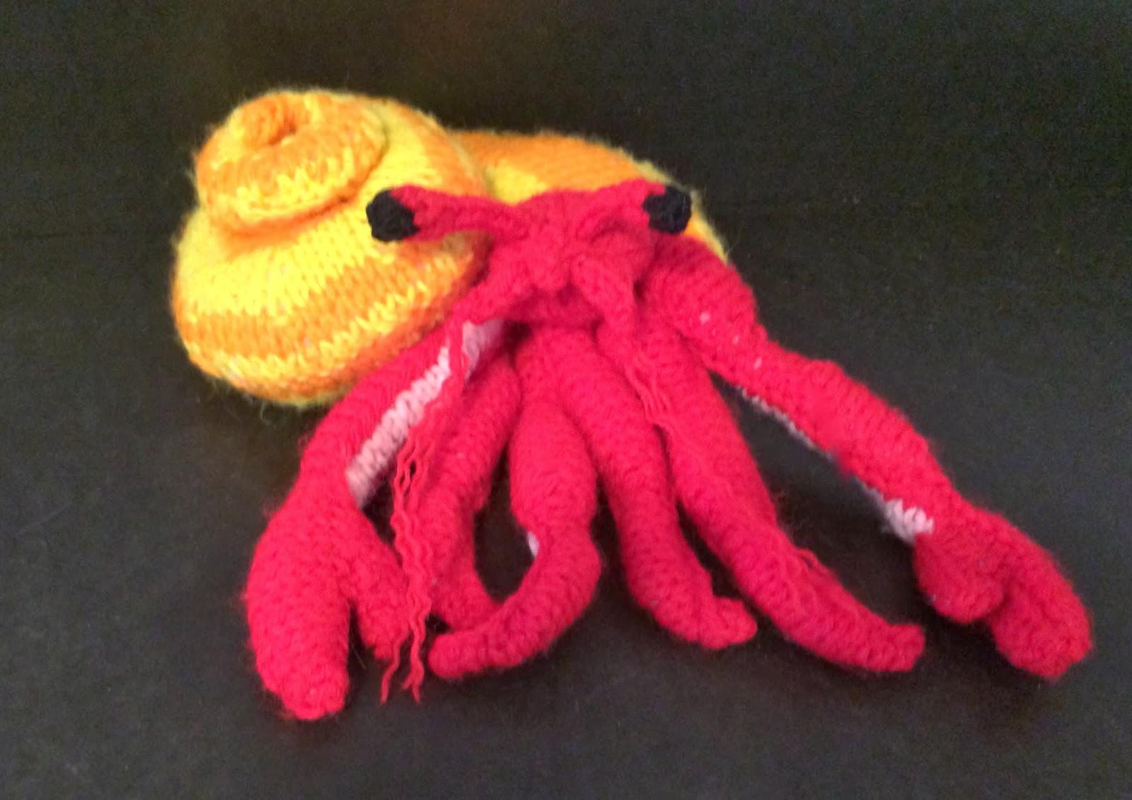 Amigurumi Hermit Crab : Knitskatoon: October 2013