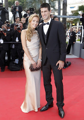 Novak Djokovic with Girlfriend