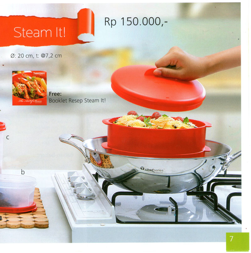 Katalog Tupperware Promo Juni 2013-Steam It, tupperwareraya