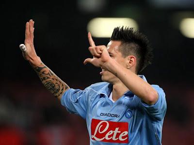 Marek Hamsik Napoli Goal Celebration