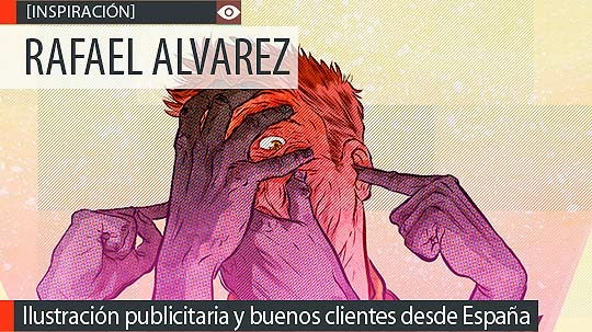 Ilustración de inspiración con RAFAEL ALVAREZ.