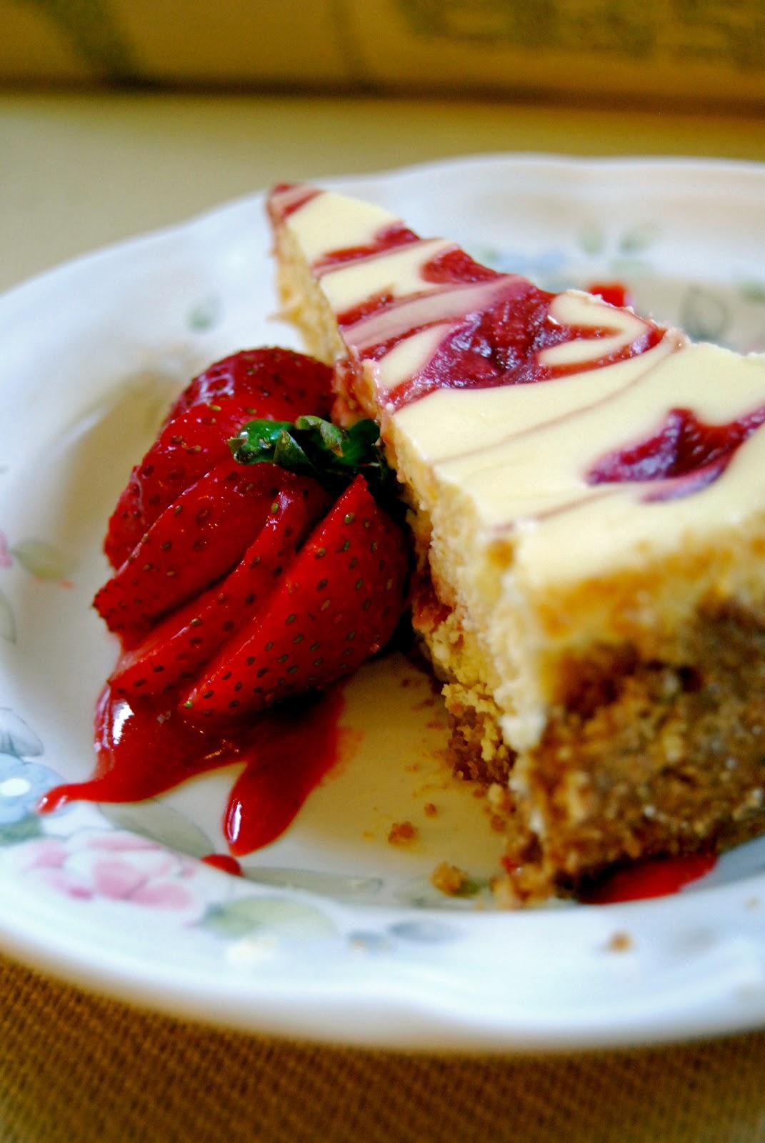 Strawberry Cheesecake | by Life Tastes Good