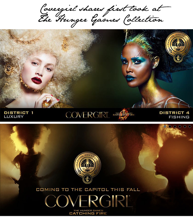 Covergirl Capitol Collection Glosstinis For Catching: Covergirl Goes Capitol With The Hunger Games Makeup Launch