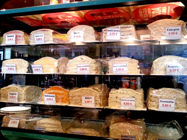 Sándwiches de Ferpal