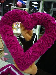 dia dos namorados - artesanato em feltro - coração