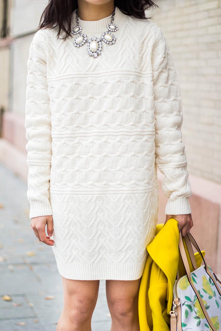 Forever 21 chunky knit sweater dress restocked forever for Boden mid season sale 2015