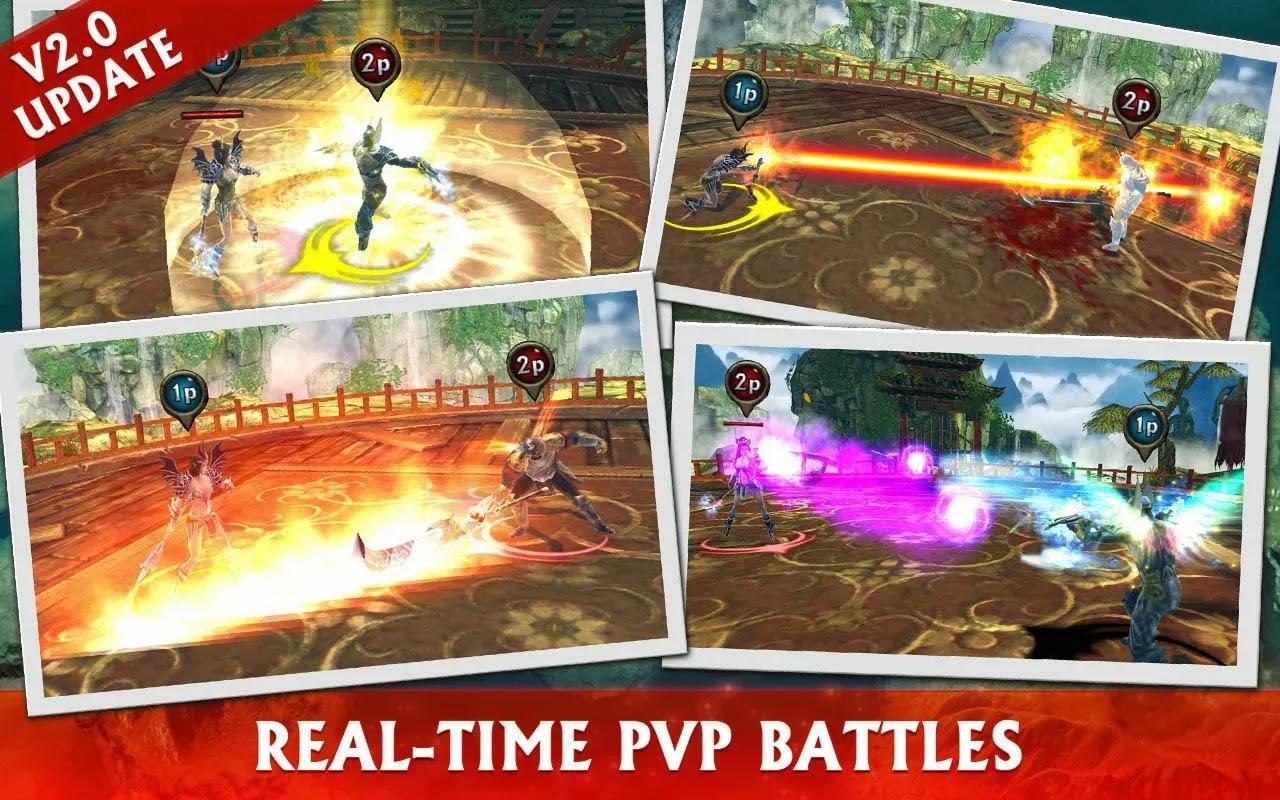 Eternity Warriors 3 v2.0.1 Mod [Unlimited Mana & No Coldown]
