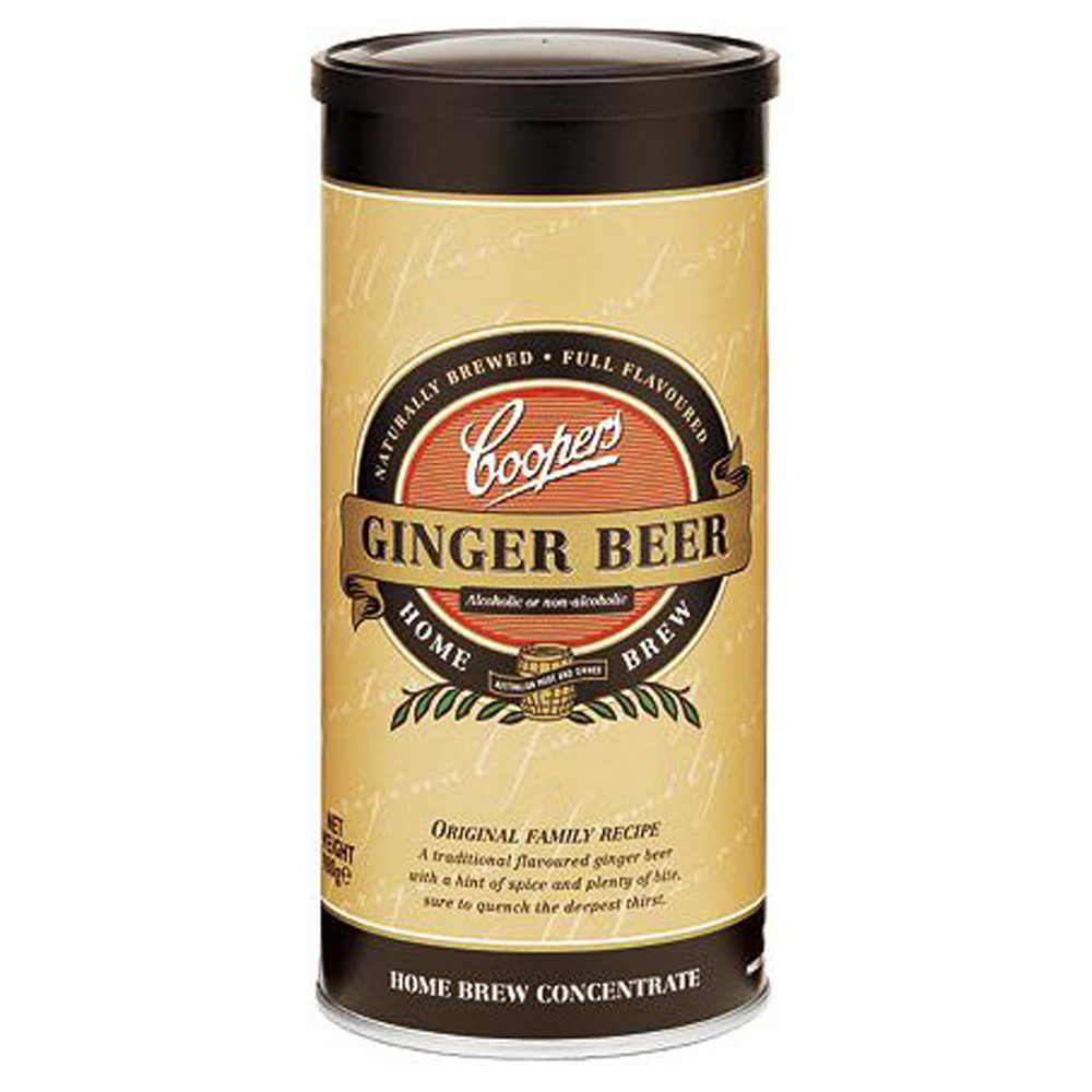 Ronk Home Brewing: #16 - Coopers Ginger Beer [Kit]