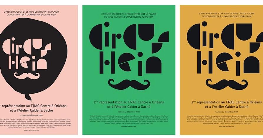 Circus Hein Posters Copenhagen Nest