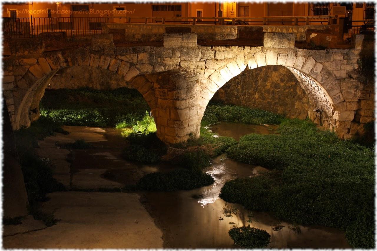 Puente sobre río Moscas, Fuentes, Cuenca