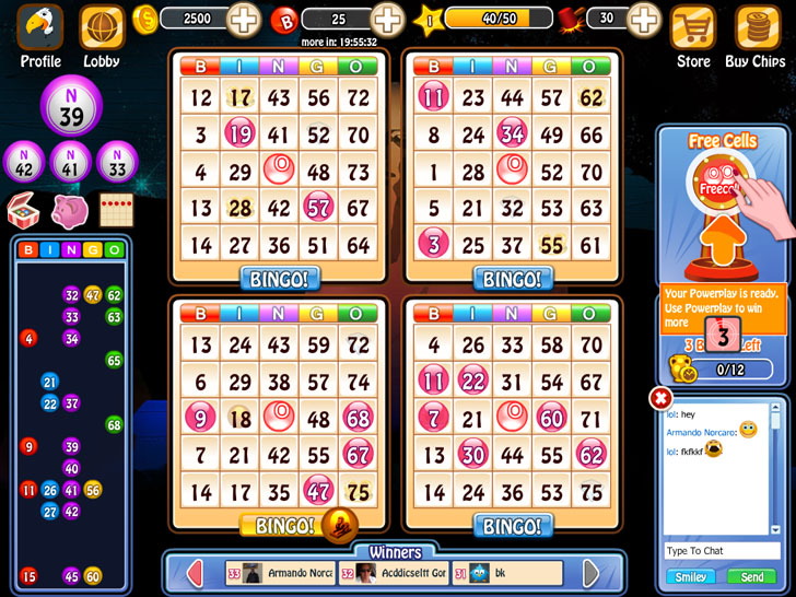 Bingo Bash Free App Game By BitRhymes