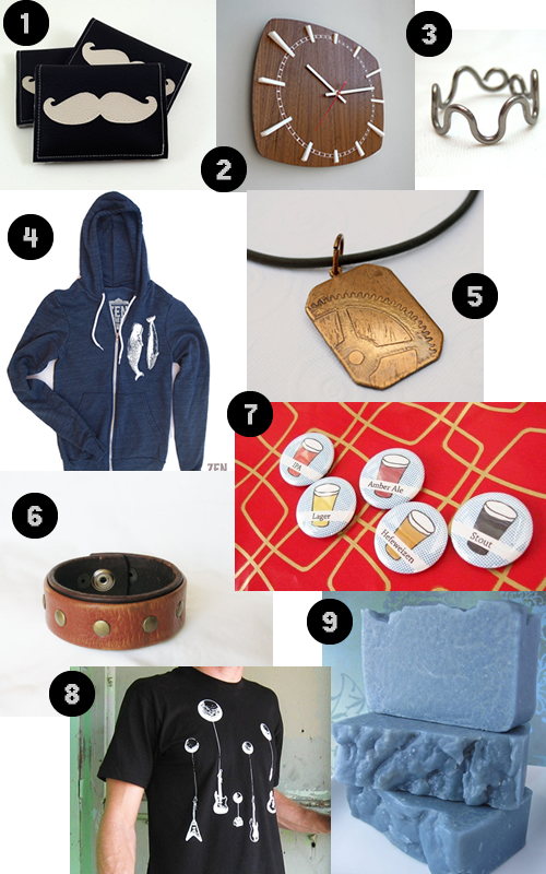 Indie Gift Guide: For the man in your life