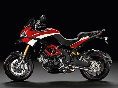 2012 Ducati Multistrada 1200S Pikes Peak Gambar Motor , 480x360 pixels