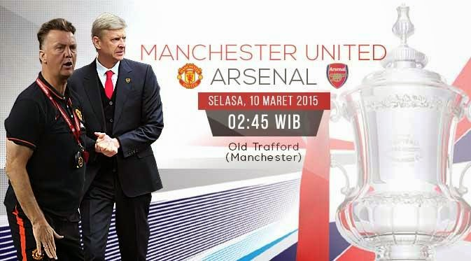 Manchester United vs Arsenal FA Cup 2014-2015