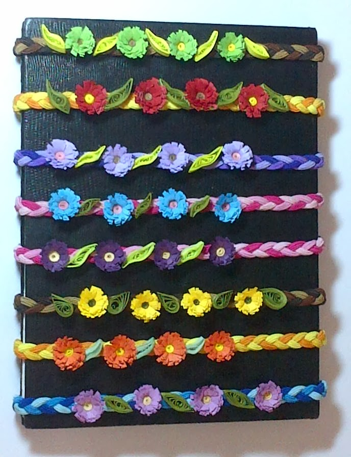 Hair Bands With Quilled