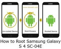 How to Root Samsung Galaxy S4 SC-04E