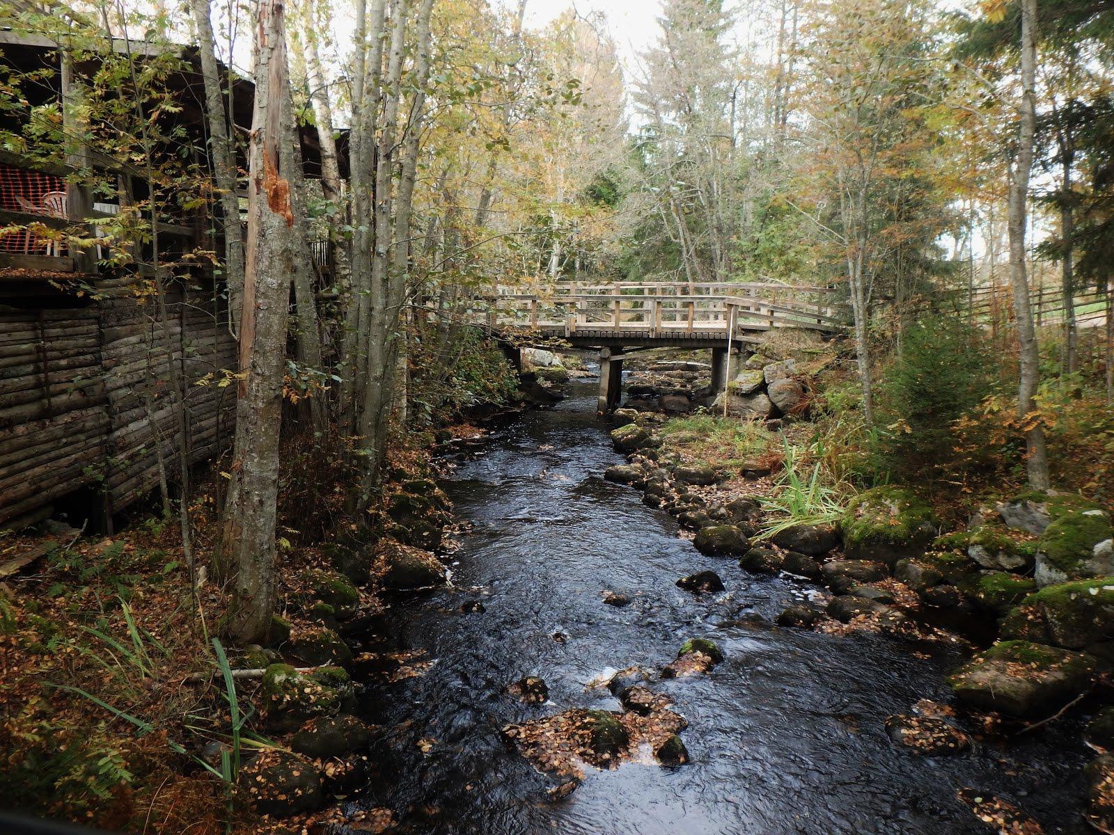 Turpoonkosken silta: lähtöpaikka