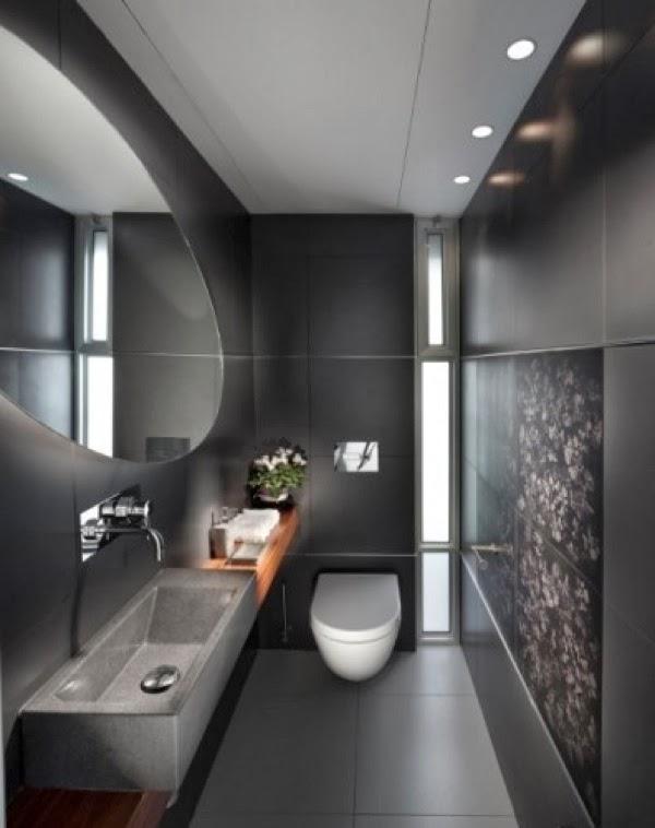 Dise os de ba os peque os colores en casa - Diseno de cuartos de bano pequenos ...