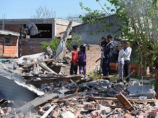Ovni cae a la tierra en Argentina