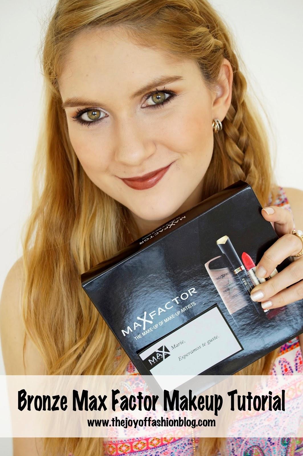 Max Factor Makeup Tutorial